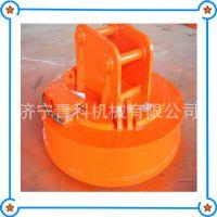 夹持钢铁起重机 电磁铁吸盘式吊运机 导磁性物料强励磁搬运机