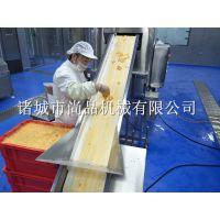 速冻鸡米花滚筒上粉机 腌制鸡方块转动式裹粉裹糠机 滚筒上粉设备