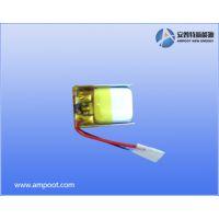 安普特新能源厂家直供AMP601015 55mAh聚合物锂锂电芯,成品电池,可按要求定制