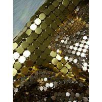 河北批发鳞片金属布帘,钻石片装饰网,展厅金属吊帘