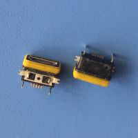 MICRO B型防水插座 板上前贴后插迈克防水母座 IP67防水等级 5P/贴板防水USB