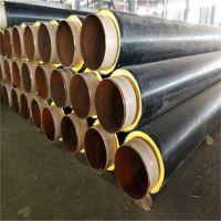 供应 直埋聚氨酯热水保温管 生产热力管道