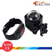 厂家直销裸机防水CUBE360H全景相机 VR运动摄像机 带遥控