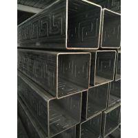 镀锌压花方管生产厂家大量现货可订制 ***新压花钢管