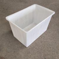 常州300L滚塑方箱 K300L方箱桶 牛筋PE水箱 车间零件工具整理箱 塑料推车定制