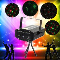 四合一满天星灯 迷你激光灯 镭射灯迷你 舞台灯光 舞台DJ设备闪光