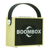 musiccrown新款创意涂鸦木制无线蓝牙音响便携式手提插卡音箱礼品数码小音箱