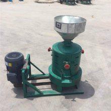 多功能稻谷脱皮碾米机 家用砂辊碾米机 圣鲁机械