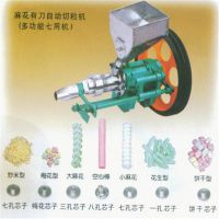 自动切断玉米炸空心棒机 多功能爆米花机 流动型麻花膨化机