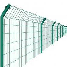 绿色钢丝网围栏 张家口钢丝网围栏价格 浸塑圈地围栏网