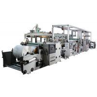 新型高效SJ-FMF65×2/800塑料挤出涂膜复合机