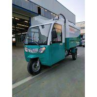 3方电动垃圾车小巧 停放方便 整个操作一人就可以完成三轮挂桶式垃圾车
