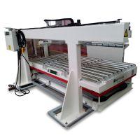 东莞厂家供应 裁板机光电控制液压升降堆垛自动推板上板机