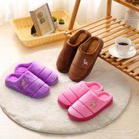 居家保暖棉拖鞋室内外家用休闲拖鞋木地板防滑毛绒拖鞋越走向厂家
