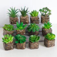 创意家居装饰摆件仿真植物盆栽 仿真花套装客厅装饰花厂家直销