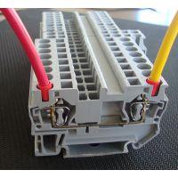 厂家直销ST4回拉式弹簧接线端子,ST4直通式弹簧端子批发,ST4笼式弹簧端子价格