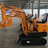 杰工直销耐磨耐用多功能小型挖掘机 小型挖沟机价格