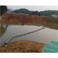 湖面漂流垃圾隔离拦污浮筒