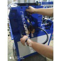 佛山不锈钢圆管自动闪光对焊接设备广州火龙焊机
