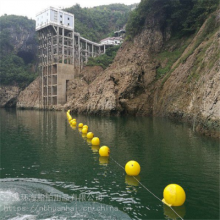 供应聚乙烯警示浮球河道湖泊赛道浮排