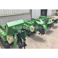 精准施肥柴油开沟机 双履带自走式施肥机 通过性强的耕田机