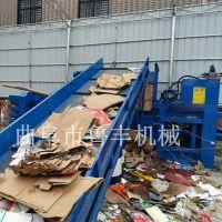 兰考卧式液压打包机厂家废纸打包机价格