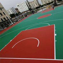 塑胶地面多少钱一平方 湖南邵东高中篮球场地面施工 硅pu篮球场有多厚