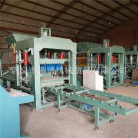 郑州免烧砖机 水泥砖制砖机 自动免烧砌块空心砖机