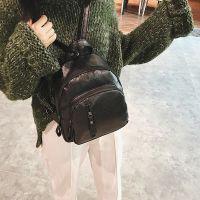 2017夏新款韩版潮女士双肩包女时尚百搭休闲软皮迷你小背包女包包