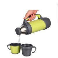 大容量保温壶车载保温杯户外不锈钢真空旅行水壶热水瓶可定制家用