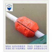银川水库拦污浮球 河水挡污浮球 水域PE警示浮球