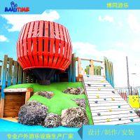 非标儿童户外游乐设备,木质游乐设备,上海游乐设备生产厂家