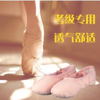 幼儿童舞蹈鞋女软底芭蕾舞鞋女童跳舞鞋形体猫爪鞋练功瑜伽鞋成人