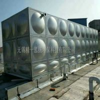 2019厂价直供 现场安装480吨规格消防用304不锈钢保温水箱