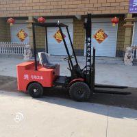 新款四轮座驾式电动叉车1.吨小型1.5吨全自动堆升高搬运装卸铲车