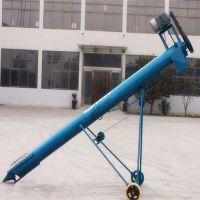 都用-化工粉不锈钢提升机 5米长颗粒料提升机 绞龙式沙土提升机