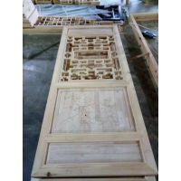 雕花实木门_雕刻方式花格花型样式_实木雕刻厂家价格