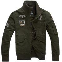 跨境专供亚马逊速卖通空军一号夹克外套男士大码德国军工装夹克外