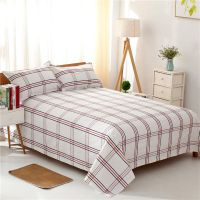 老粗布床单单件双人农村被单加厚加密床单单人大炕单1.5m1.8m2.0