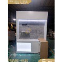 小米2.0版厨房场景背柜定做,小米有品体验店展台生产厂家