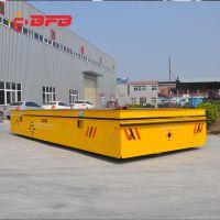 货源产地运输搬运冷凝器无轨平车 定制大吨位厂区平板运输车包邮