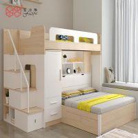 富滋雅儿童床子母床衣柜床组合板式床可定制