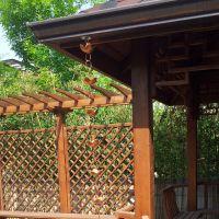 铝合金雨链 纯铜雨链 环形雨水链 别墅排水装饰链 厂家直销 可定制