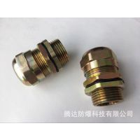 BDM-G1寸(M25*1.5)防爆电缆夹紧接头 金属格兰 腾达厂家批发