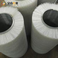 工业钢丝刷辊 毛刷辊 尼龙丝毛刷 定制滚筒刷 清洗机毛刷辊