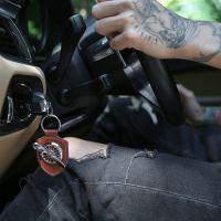 空军二号荣誉勋章汽车钥匙扣车内饰品挂件简约男女个性创意锁匙扣