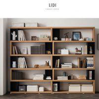 优选简约现代书架置物架书柜办公室组合架客厅隔断展示柜多层