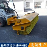 滑移装载机扫雪车价格 新疆冬季扫雪用滑移装载机配扫雪清扫器
