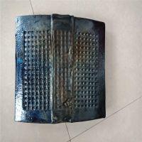耐磨铸石块 微晶铸石板 耐老化不粘料除渣机铸石衬板