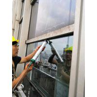 海珠高层幕墙玻璃自爆更换维修——幕墙维修高品质